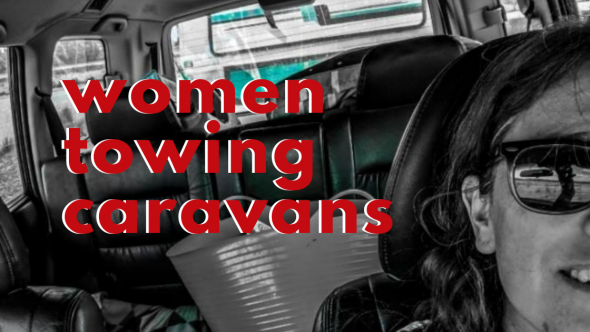Female Caravanners Towing