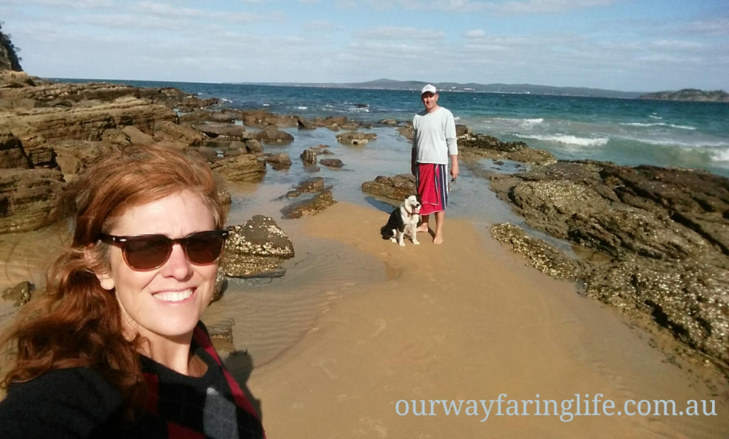 All three of us in Eden NSW