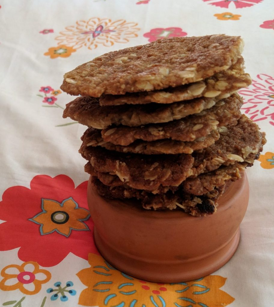 Anzac Biscuits Made In The Caravan