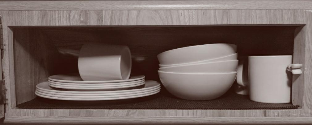 Caravan Plates, Bowls and Cups
