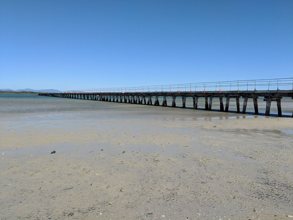 Historical Long Jetty Port Welshpool Victoria