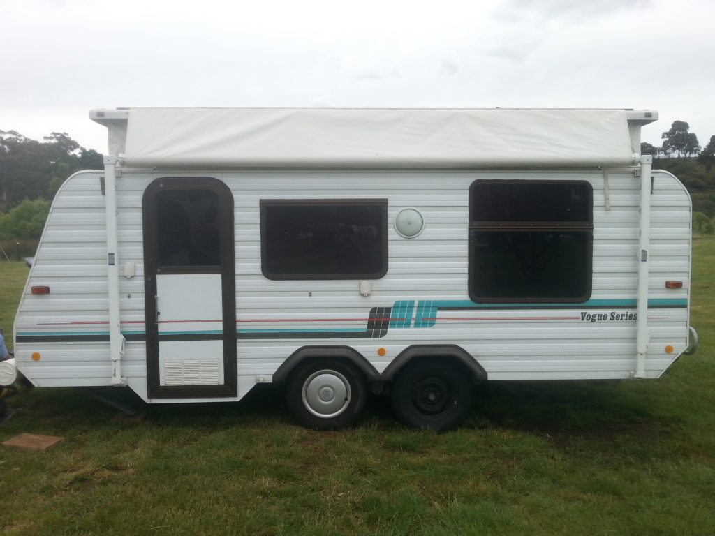 Josephine 1994 Viscount Pop Top Caravan