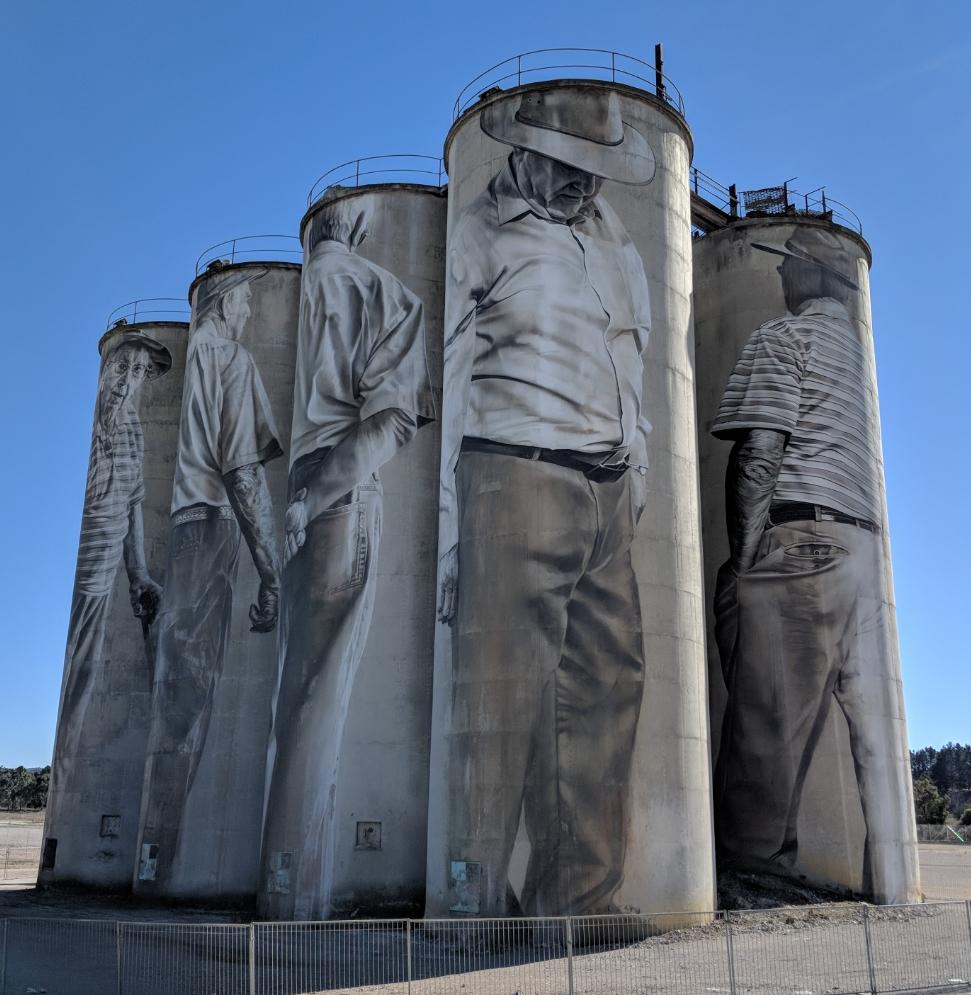 Silo Art Portland NSW