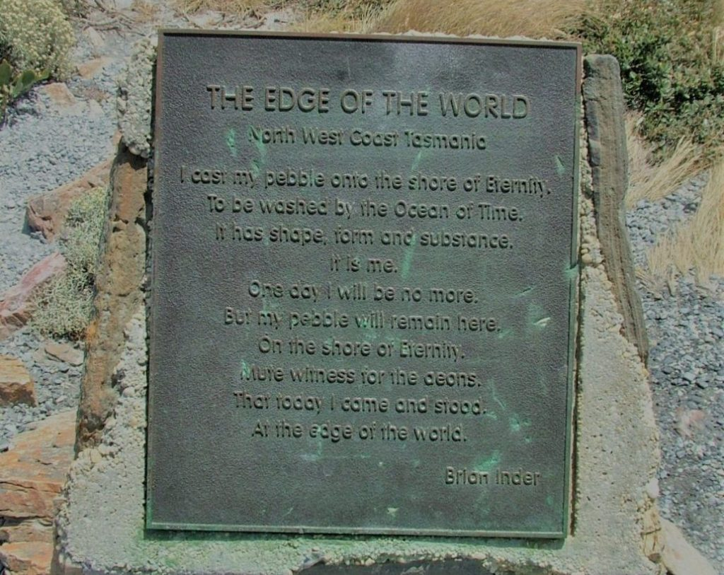 The Edge of the World Tarkine Drive Tasmania