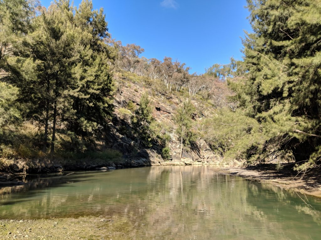 Wallaby Rocks Crossing Campground