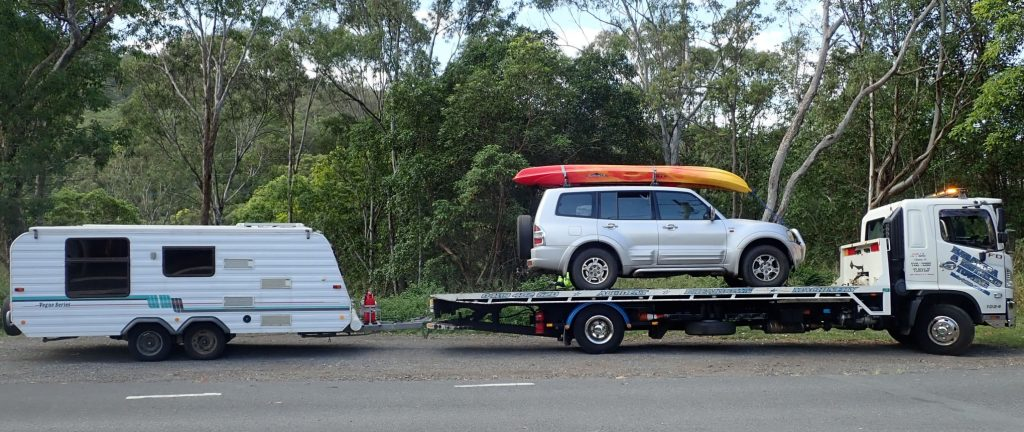 Walter and Josephine Ready To Be Towed
