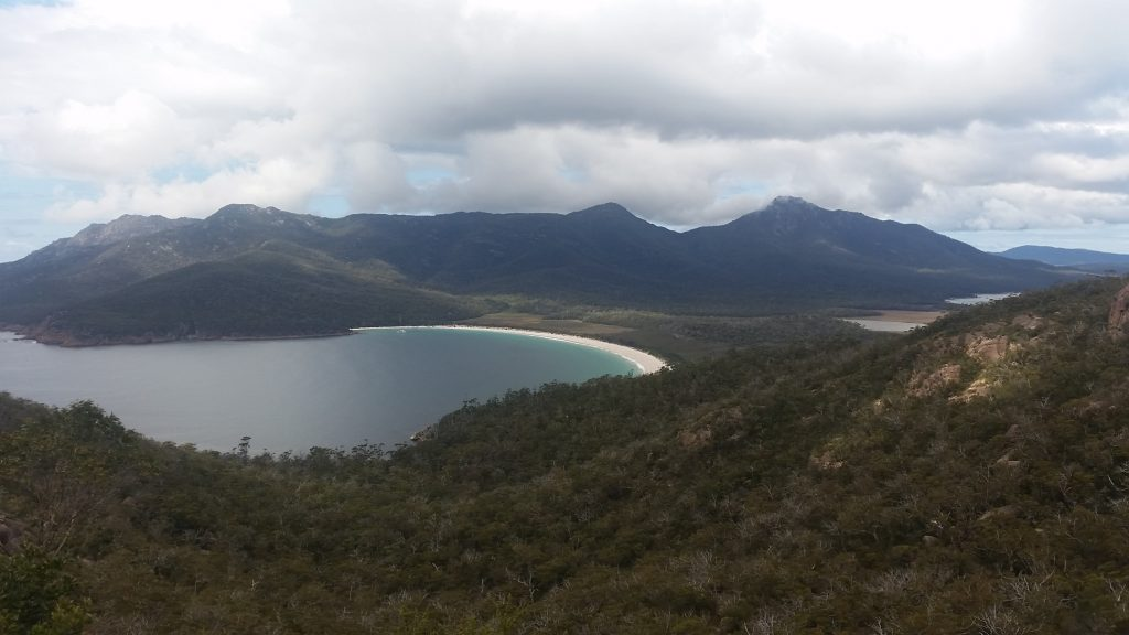 Wineglass Bay Freychinet National Park Tasmania