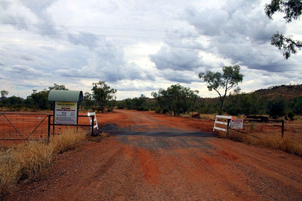 Entry Ballara Mining Heritage Trail